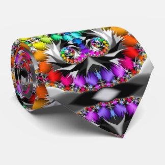 Gravata Toque do arco-íris do Fractal
