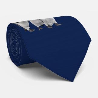 Gravata Três reis Amarração Dobro Sided (marinho)