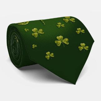 Gravata Trevos originais elegantes do dia | de St Patrick