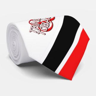 Gravata Trinidad & Tobago (brancos)