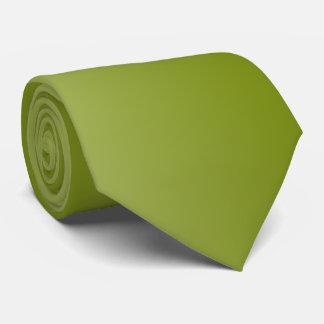 Gravata Verde azeitona com parte traseira