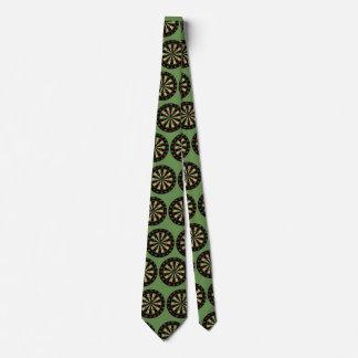 Gravata Verde do laço do conselho de dardo