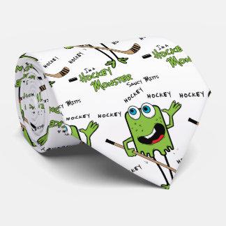 Gravata Verde do monstro do hóquei