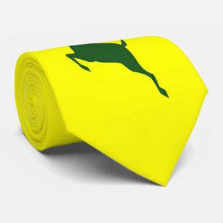 Gravata verde dos cervos