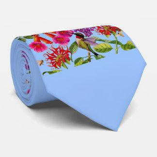 Gravata videira de trombeta, arbusto de borboleta, colibri