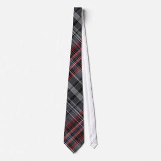 Gravata Xadrez vermelha, preto e branco