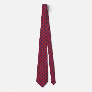 Gravatas vermelhas para o sapo de árvore azul da