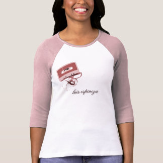 Grave o t-shirt da fita camiseta