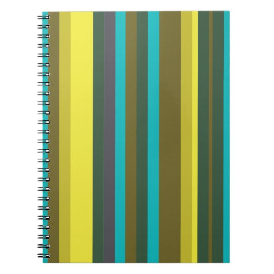 Green_stripes Caderno