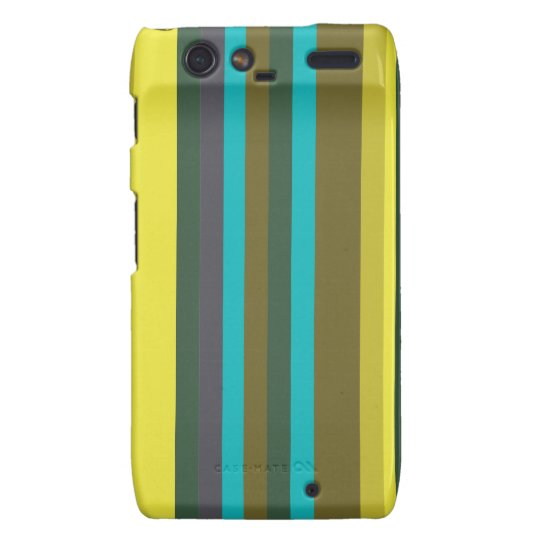Green_stripes Capas Motorola Droid RAZR