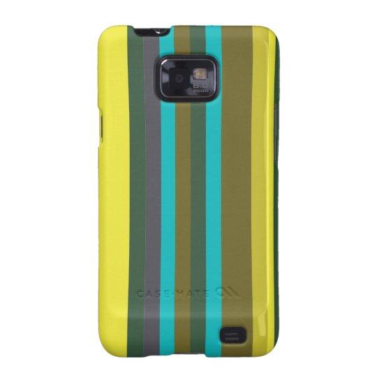 Green_stripes Capas Para Galaxy S2