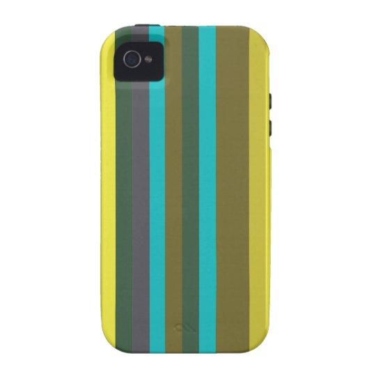 Green_stripes Capinhas Para iPhone 4/4S