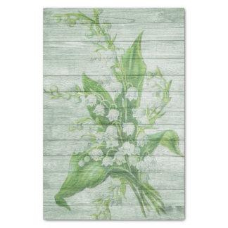 greenwood floresce o lenço de papel