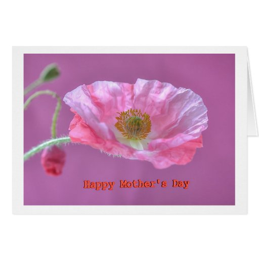 Greeting Card Happy Mothers Day Cartão