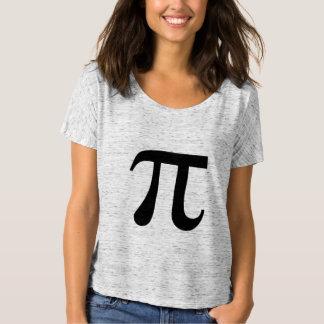 Grego do símbolo da matemática do Pi T-shirts