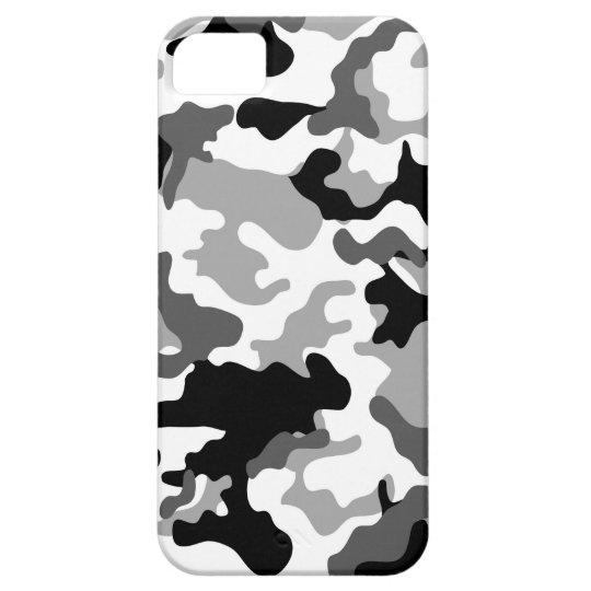 Grey Camo iPhone 5 Case Capas Para iPhone 5