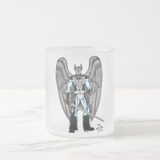 GreyHawk caneca do vidro de fosco de 10 onças