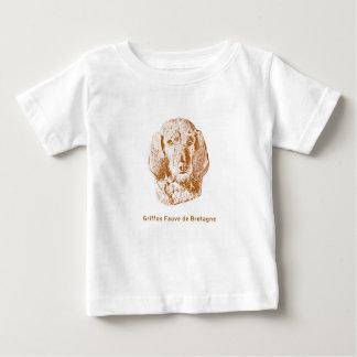 Griffon Fauve de Bretagne Camiseta Para Bebê