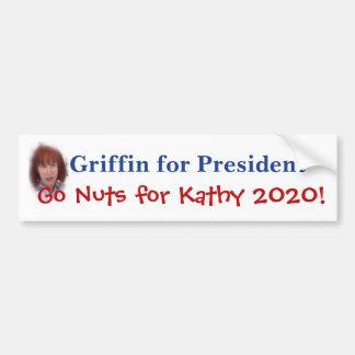 Grifo de Kathy para o presidente Adesivo Para Carro