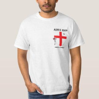 Grilo do inglês da bandeira de Inglaterra Tshirts