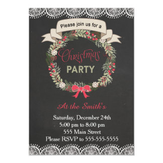 Grinalda do quadro do convite de festas de