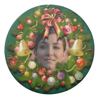 Grinalda do Xmas personalizada com sua própria Borracha