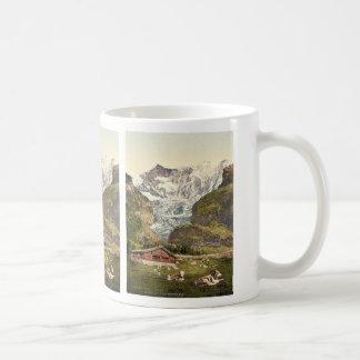 Grindelwald, chalé e Vischerhorn, Bernese Oberl Caneca De Café