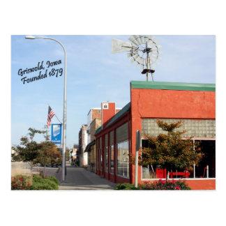 Griswold, cartão do moinho de vento de Iowa