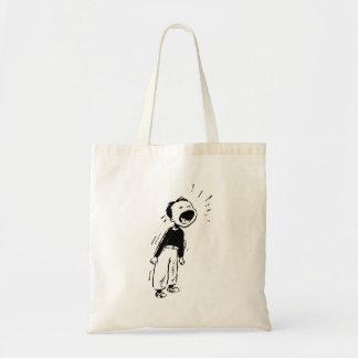 Gritar da criança bolsa