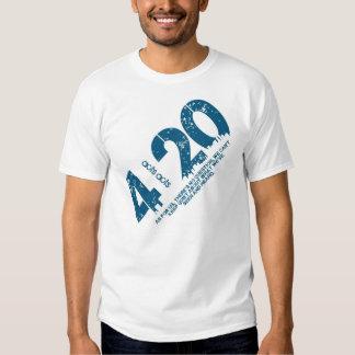 Grito ele para fora 4/20 camiseta