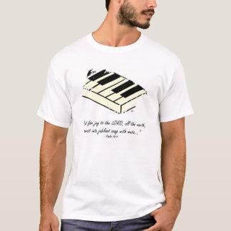 """""""Grito para a alegria - camisa do piano"""""""