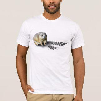 Groundhog Phil diz… Camiseta
