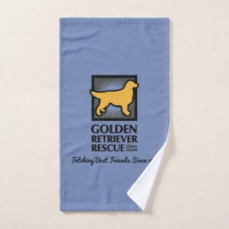 GRRNT que busca a melhores amigos a toalha do cão
