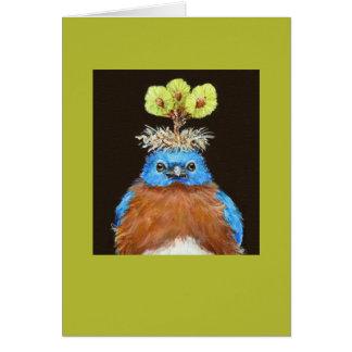 Grumpus o cartão do bluebird