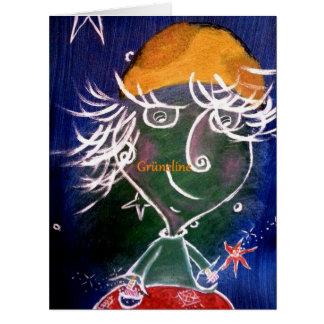 Grüneline Arte Card de amizade Cartão Comemorativo Grande