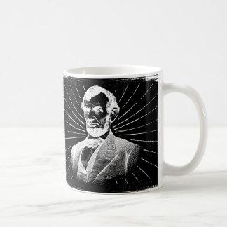 grunge Abraham Lincoln Caneca De Café
