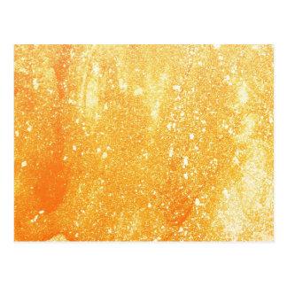 Grunge amarelo cartões postais
