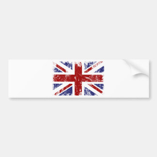 Grunge britânico do punk da bandeira adesivos