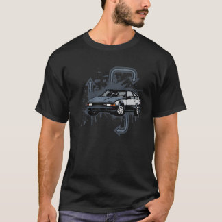 Grunge de dois tons camiseta