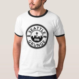 Grunge de Seattle T-shirts