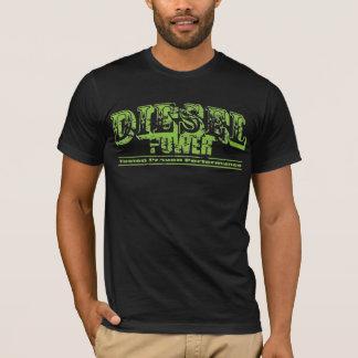 Grunge diesel do poder camiseta