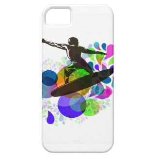 Grunge do surfista de PixDezines Capa Barely There Para iPhone 5
