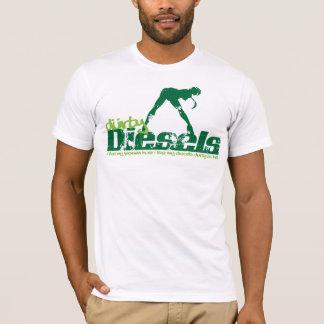 Grunge verde dos diesel de Durty Camiseta