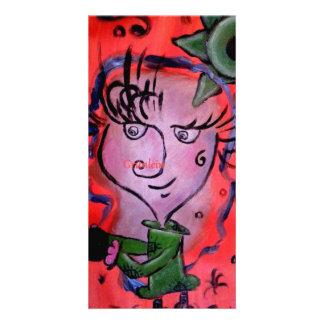 Grünlein Foto Arte Card Cartão Com Foto