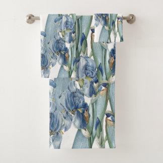 Grupo azul botânico de toalha de banho de Redoute