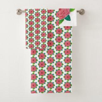 Grupo Bejeweled de toalha do rosa do rosa