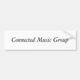 Grupo conectado da música adesivos