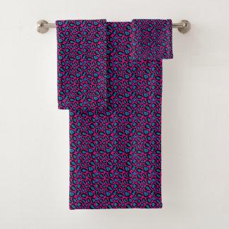 Grupo cor-de-rosa do *New*/azul chique de toalha