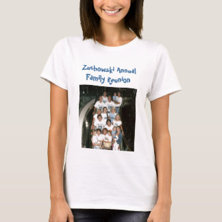 grupo - cruzeiro, reunião de família anual de camiseta