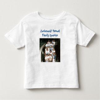 grupo - cruzeiro, reunião de família anual de camiseta infantil